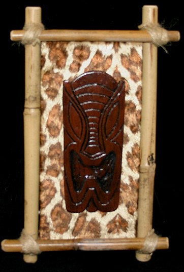 tiki carving by Tiki King