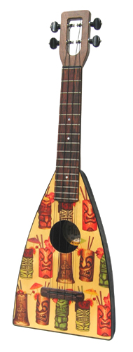 Mug Fluke ukulele by Tiki King