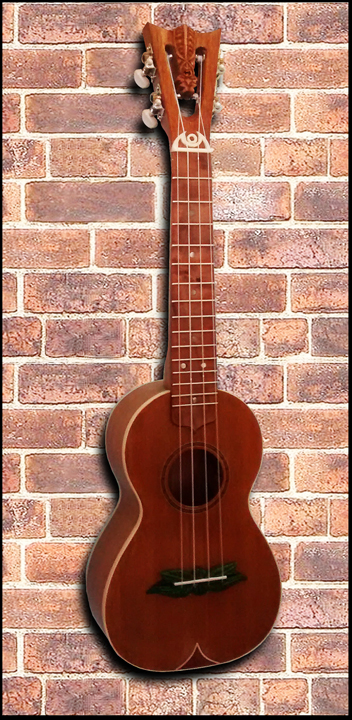 concert Ukulele #51, Built by Tiki King, 2016
