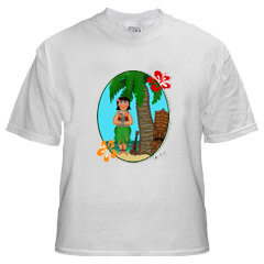 Tiki tee shirt 11