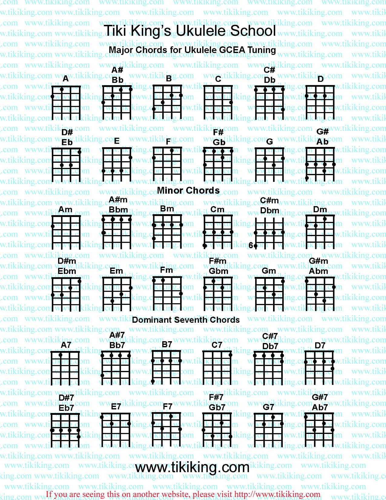 Where can I find free online guitar chord charts? : Yahoo Answers