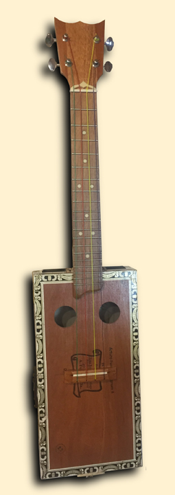 Tenor cigar box ukulele