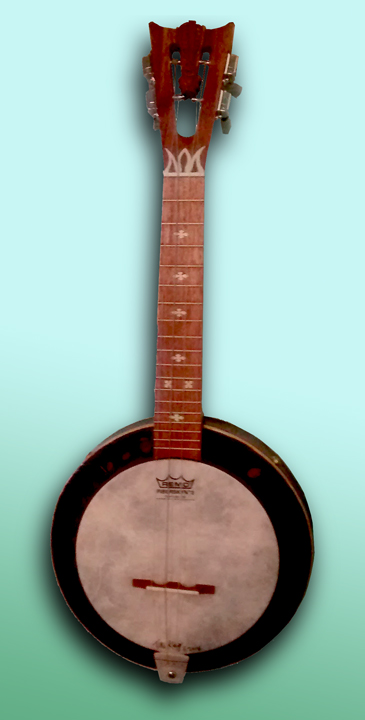 compass theme Banjo Uke