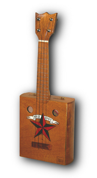 Tiki King custom cigar box Ukulele