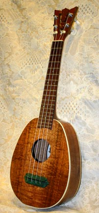 Koa Pineapple Ukulele