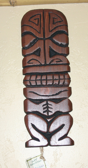 Mark 2 wall carving by Tiki King