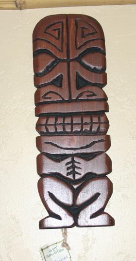 Mark 2 wall carving by Tiki King