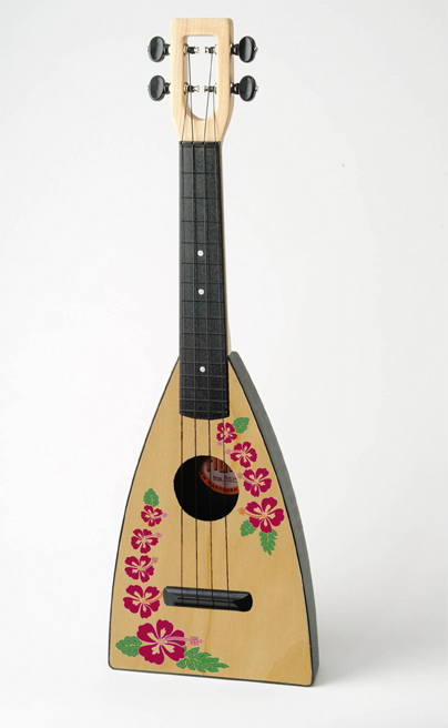 The new Island Fluke Ukulele by Tiki King