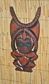 Ku carving by Tiki King