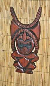 Ku carving by Tiki King