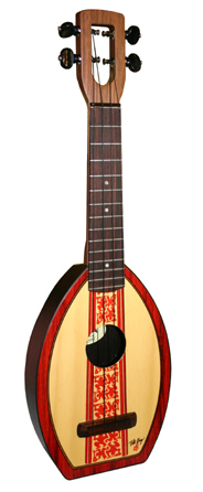 Surf Flea ukulele by Tiki King