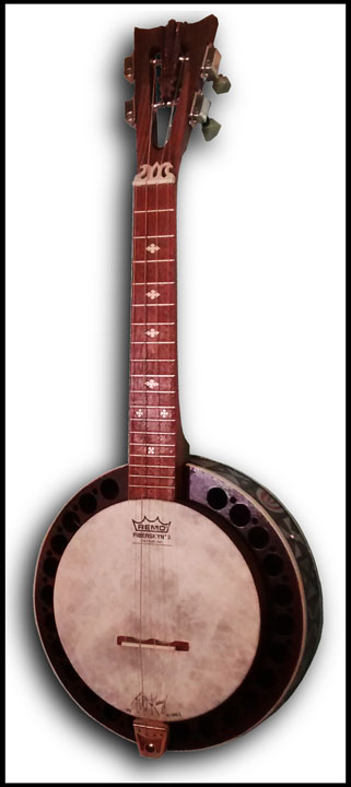 Haunted Mansion inspired Banjo Uke