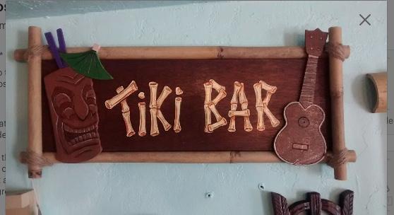 tiki bar sign by Tiki King