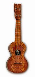 Tiki ukulele