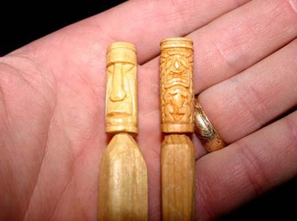 original carvings by tiki king tiny tiki s
