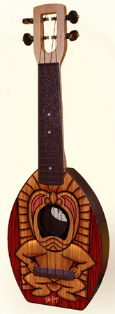 tiki Flea Ukulele by Tiki King