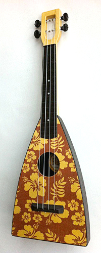 Tiki King custom aloha flea Ukulele
