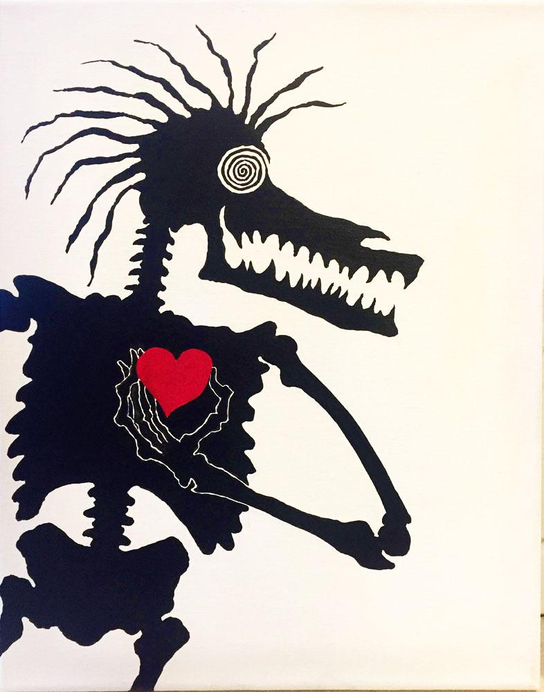 soul paintings by Tiki King